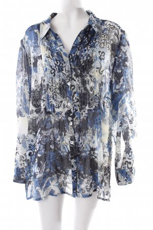 Wissmach Schlupf-Bluse florales Muster Casual-Look