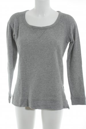 Witchery Rundhalspullover grau Casual-Look