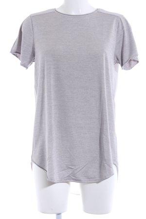 Witchery T-Shirt hellgrau meliert Casual-Look