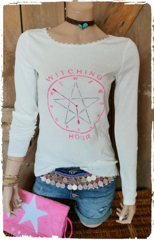 witching Time Shirt weiss