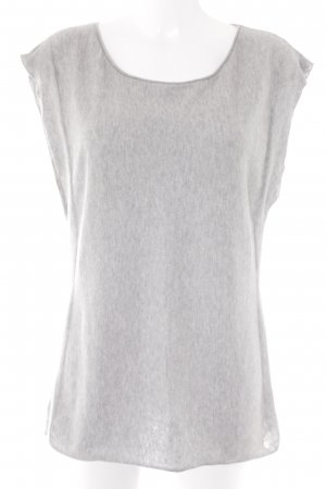 Witty Knitters Basic Top light grey street-fashion look