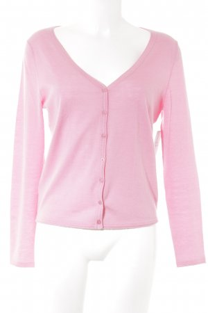 Witty Knitters Cardigan pink casual look