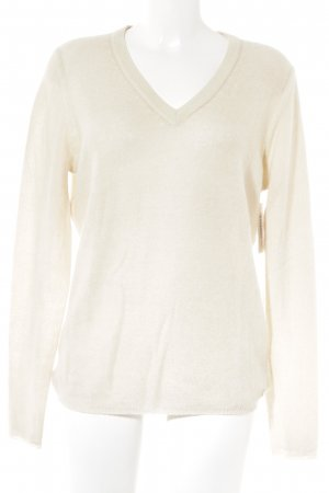 Witty Knitters Cashmerepullover creme Casual-Look