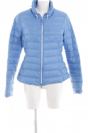 Witty Knitters Daunenjacke blau Casual-Look