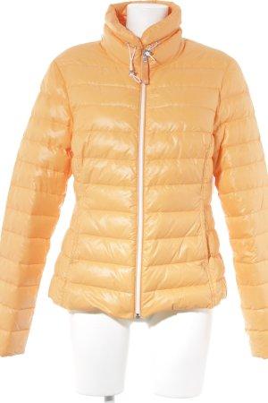 Witty Knitters Daunenjacke orange Casual-Look