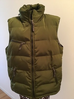 Witty Knitters Down Vest khaki-olive green
