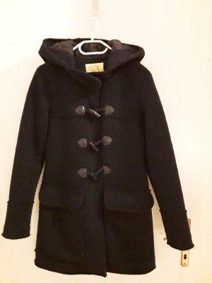 Witty Knitters Dufflecoat Wolle dark navy Gr M