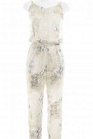 Witty Knitters Jumpsuit Animalmuster Reptil-Optik