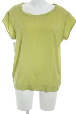 Witty Knitters Kurzarmhemd wiesengrün Elegant
