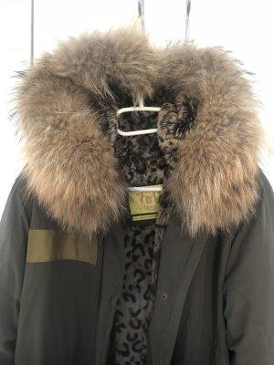 Witty Knitters Luxus echtfell Parka Größe S Neupreis 590€