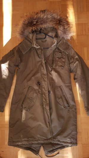 Witty Knitters Parka caqui