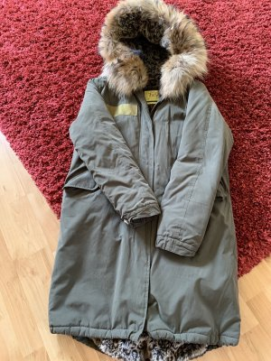 Witty Knitters Parka sage green-green grey