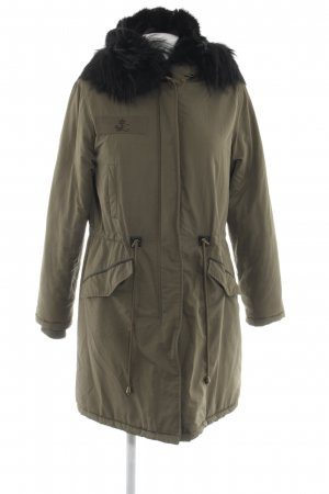 Witty Knitters Parka olive green fluffy