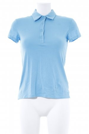 Witty Knitters Polo-Shirt hellblau Casual-Look