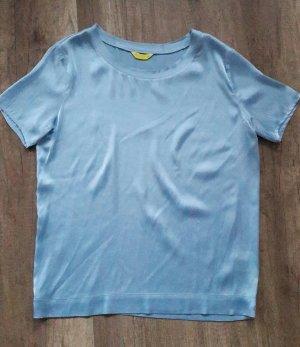 Witty Knitters Shirt Seide Seidenshirt Silk Loose fit Blusenshirt