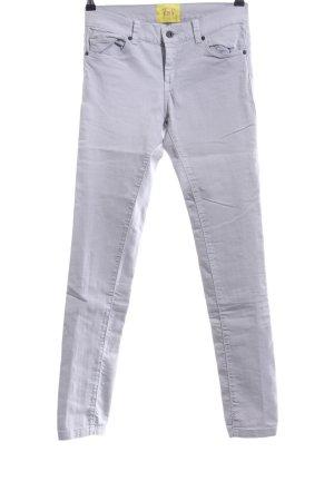 Witty Knitters Skinny Jeans hellgrau Casual-Look
