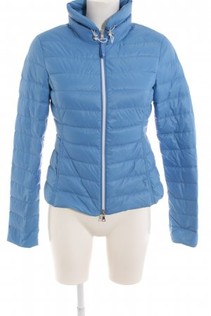 Witty Knitters Steppjacke neonblau Steppmuster Casual-Look