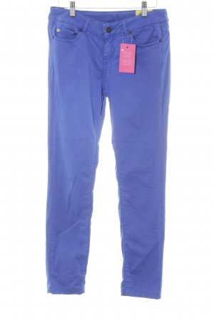 Witty Knitters Stretchhose blau Casual-Look