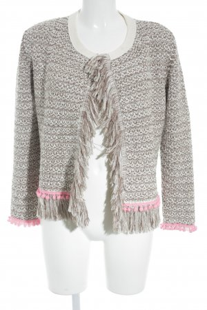 Witty Knitters Strickjacke mehrfarbig Boho-Look