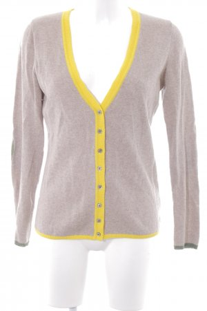 Witty Knitters Strickjacke mehrfarbig Casual-Look