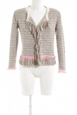 Witty Knitters Strickjacke Webmuster Casual-Look