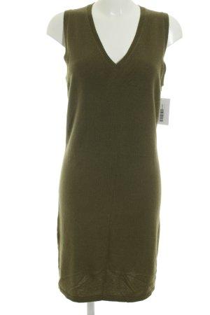 Witty Knitters Strickkleid olivgrün Casual-Look