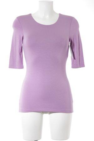 Witty Knitters T-Shirt rosa schlichter Stil