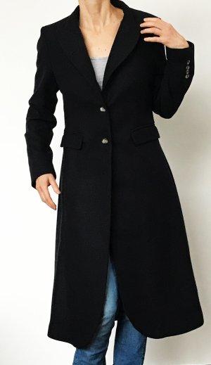 Witty Knitters Woll- Mantel Gr. S ( 34/36 ) Nachtblau NEU!