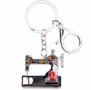 Key Chain multicolored metal