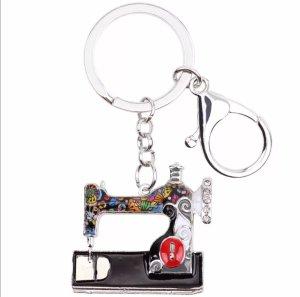 Porte-clés multicolore métal