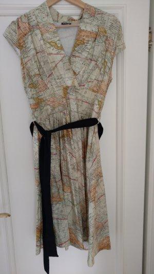 American Retro Robe multicolore coton