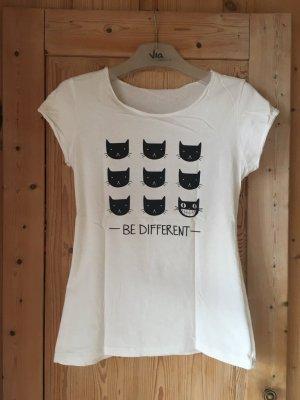 witziges Shirt mit Katzen-Motiv