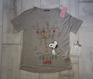 witziges Shirt mit Snoopy Love, grau, Gr. M von Princes goes Hollywood