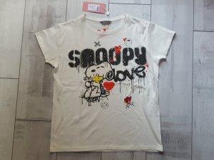 witziges Shirt mit Snoopy und Woodstock von Princess goes Hollywood, Gr. M, NEU mit Etikett