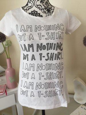 Witziges T-Shirt mit schwarzen