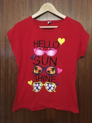 Camiseta estampada multicolor Algodón