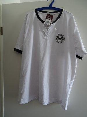 Sportshirt wit-zwart Katoen