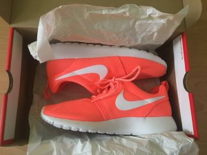 Nike Zapatillas naranja neón-blanco
