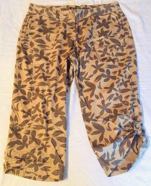 b.p.c. Bonprix Collection 3/4 Length Trousers beige-ocher