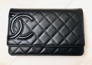 Chanel Borsa clutch nero Pelle