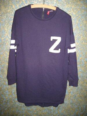 Wohlfühlshirt Sweatshirt von H&M Gr. 36, sitzt lässig