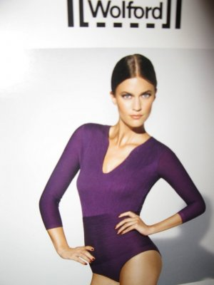 Wohlgeformtes Luxus-Wohlgefühl, Wolford Body, D32, XS