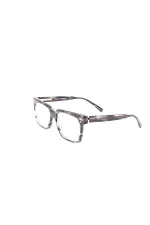 Wolfgang Proksch Gafas negro-gris claro degradado de color estilo extravagante