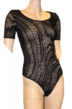 WOLFORD BODY Cotton Lace schwarz Spitze String Medium