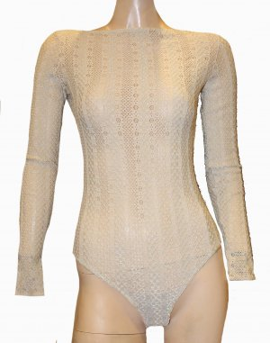 WOLFORD BODY creme Lace Spitze String Gr. S