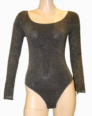 Wolford Shirt Body black-bronze-colored polyamide