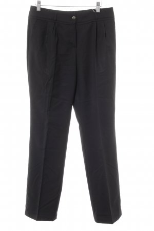 Wolford Bundfaltenhose schwarz Business-Look