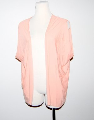 Wolford Short Sleeve Knitted Jacket rose-gold-coloured new wool