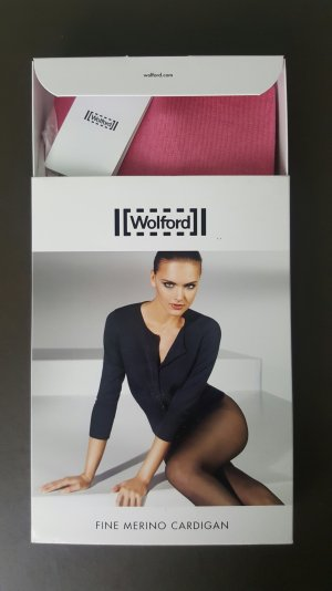 Wolford Cardigan Weste Pullover gr. M Luxus