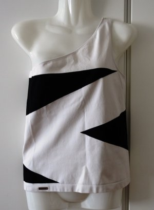 Wolford Karl Lagerfeld Gallery one shoulder Top Shirt Gr. S/M (36/38) Avantgarde